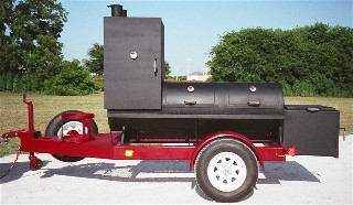 old country bbq pits portable trailer bbq smokers and grills