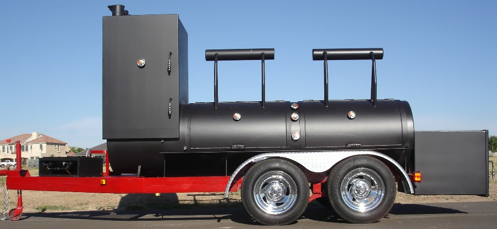 Old Country BBQ Pits - Portable trailer BBQ smokers and grills