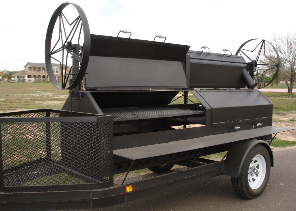 931162 in addition Portable trailer bbq smokers furthermore Showthread together with NEW King Kong BBQ Grill Smoker Trailer 290768544755 further 11 Cool And Beautiful Outdoor Fire Pit Designs. on tire rotisserie plans