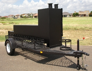 INSULATED PORTABLE BBQ SMOKER TS24X132