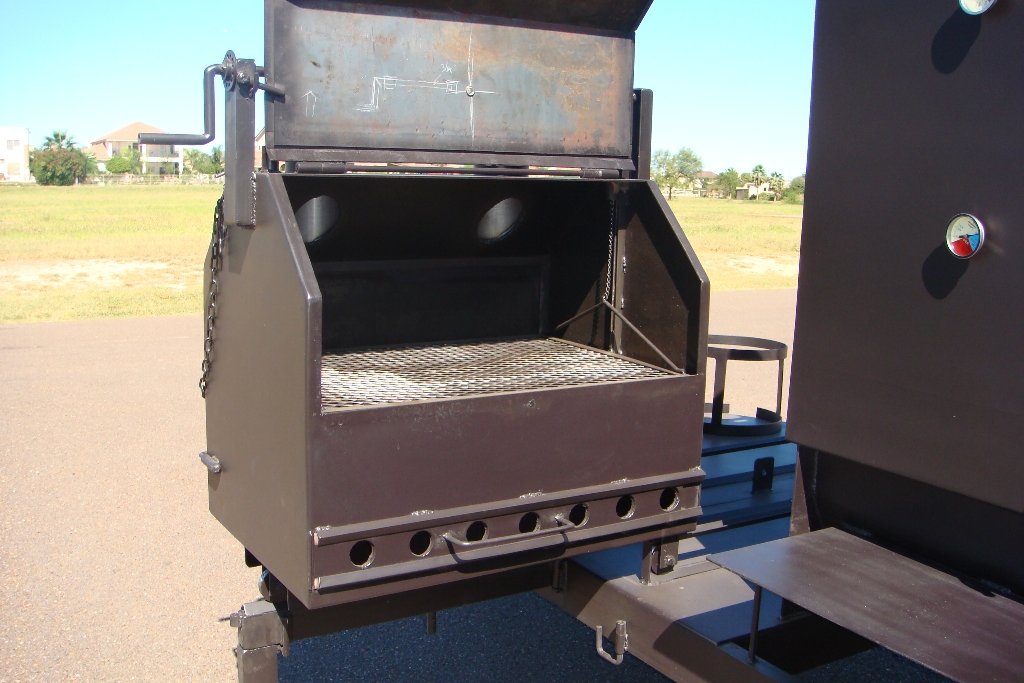 slide out bbq grill