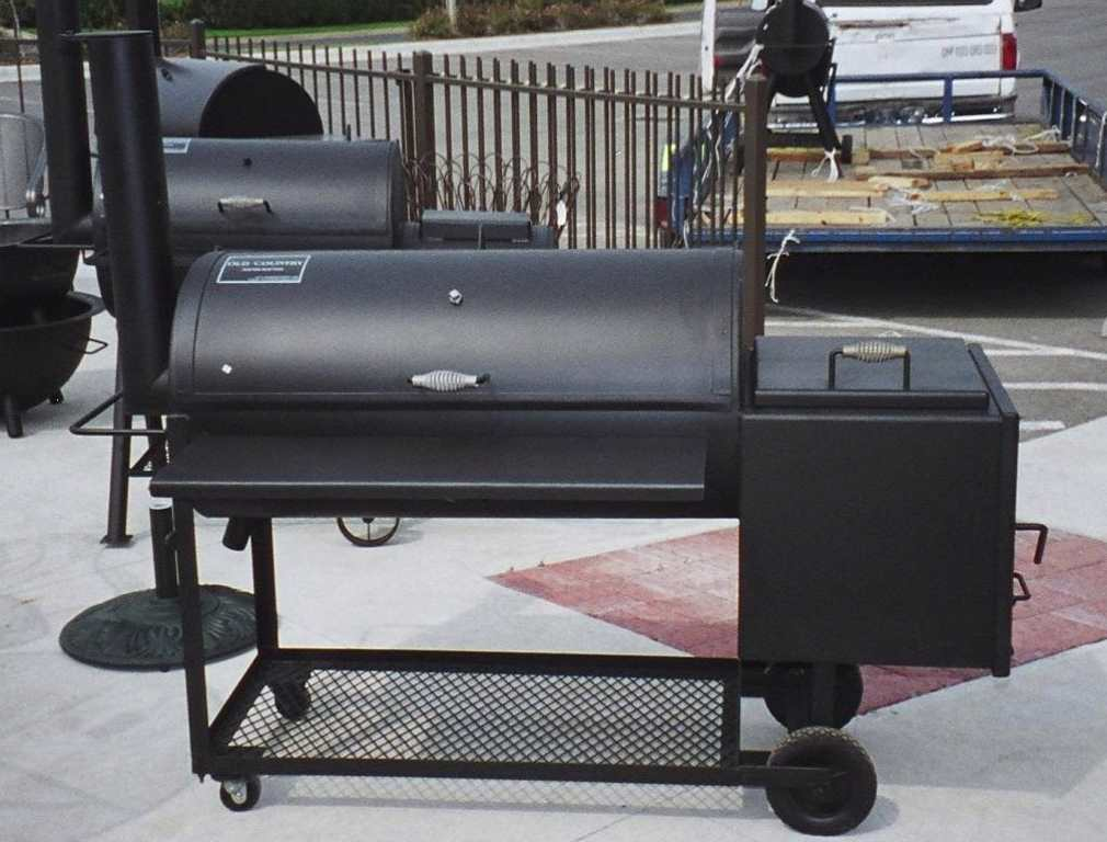 Backyard BBQ Smokers and BBQ Pits by Old Country BBQ Pits