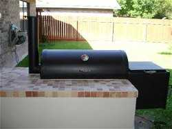 one of our backyard bbq grills