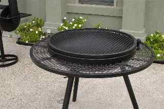 extended grill outdoor fire pits,  tall closed 2