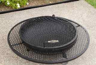 extended grill outdoor fire pits,  low closed 2